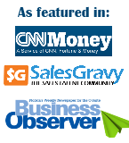 as featured in CNNMoney SalesGravy Business Observer